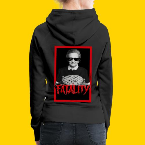 Fatality - Felpa con cappuccio premium da donna