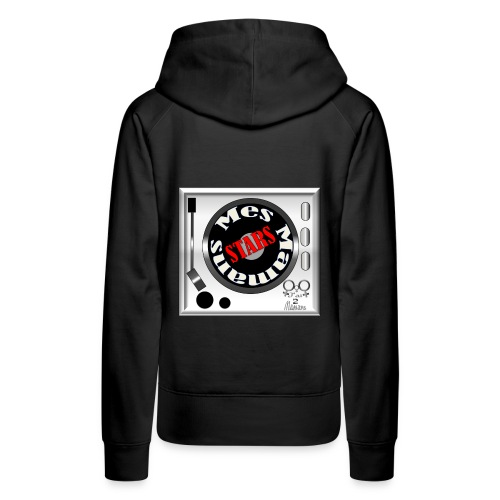 mamans_stars - Sweat-shirt à capuche Premium pour femmes