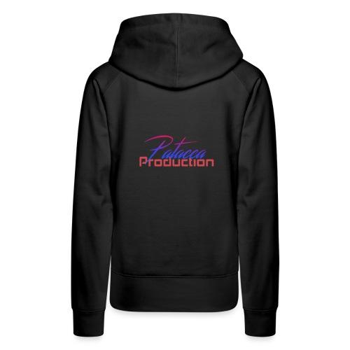PATACCA PRODUCTION - Felpa con cappuccio premium da donna