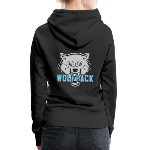 WOLFPACK CHEERLEADING - Frauen Premium Hoodie