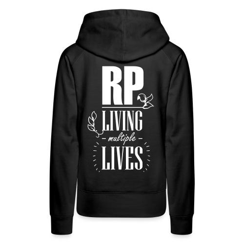 Role play - Living multiple lives - Dame Premium hættetrøje