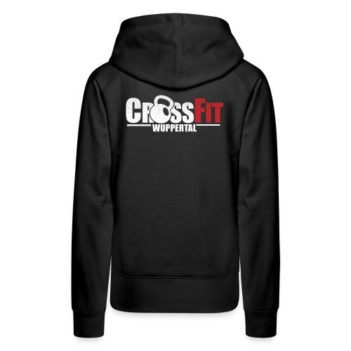 crossfitwuppertalwhitefrei2 - Frauen Premium Hoodie