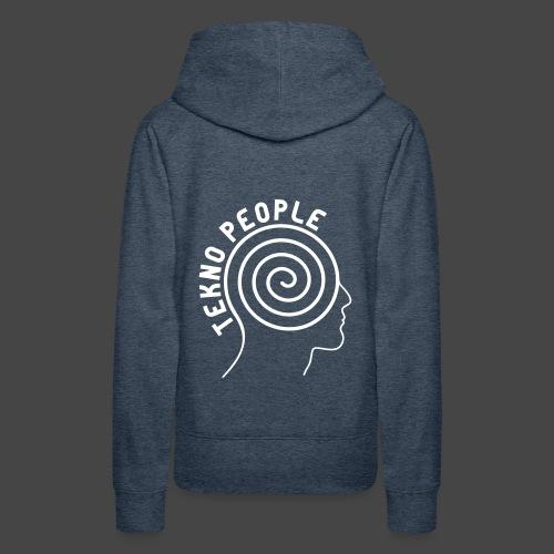 personnes tekno - Sweat-shirt à capuche Premium pour femmes