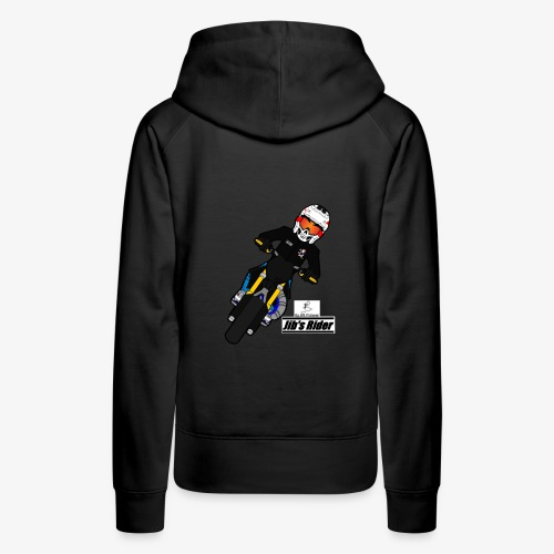 Jib's Rider - Sweat-shirt à capuche Premium pour femmes