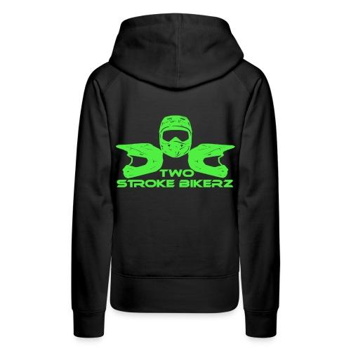 TSB Logo grün png - Frauen Premium Hoodie