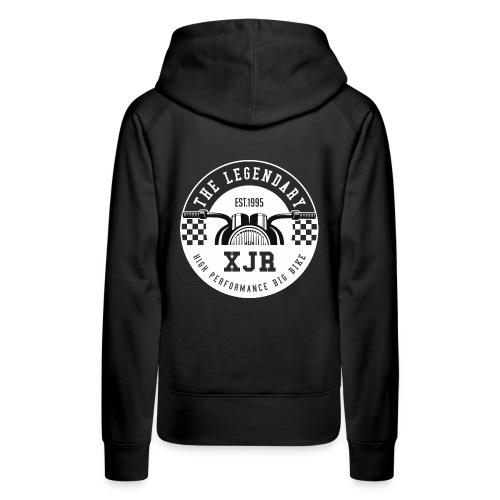 XJR Motorrad Motiv - Frauen Premium Hoodie