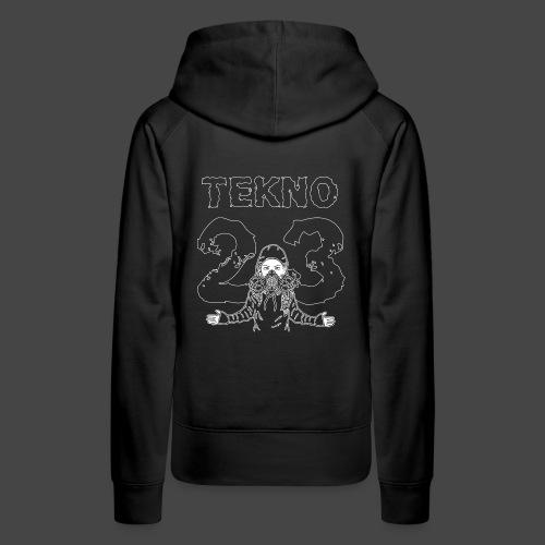 Tekno 23 - Sweat-shirt à capuche Premium pour femmes