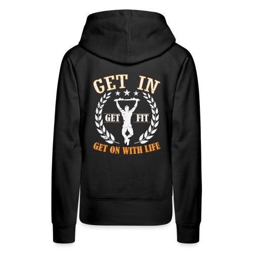 Calisthenics Training Street Fitness Klimmzug - Frauen Premium Hoodie