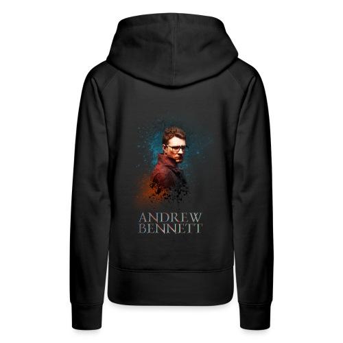 Andrew Bennett - Sweat-shirt à capuche Premium pour femmes