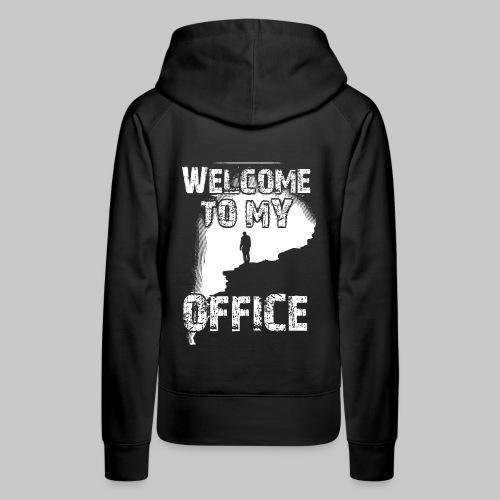 welcome to my office buero dschungel berg 2reborn - Frauen Premium Hoodie