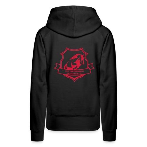 logo_rfv_hsf - Frauen Premium Hoodie
