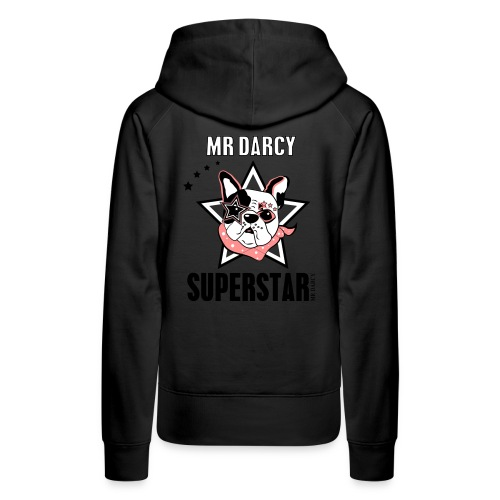 MR DARCY SUPERSTAR - Frauen Premium Hoodie