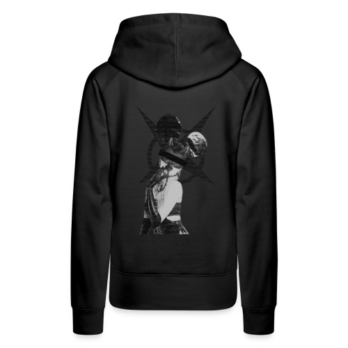micky devil girl - Frauen Premium Hoodie