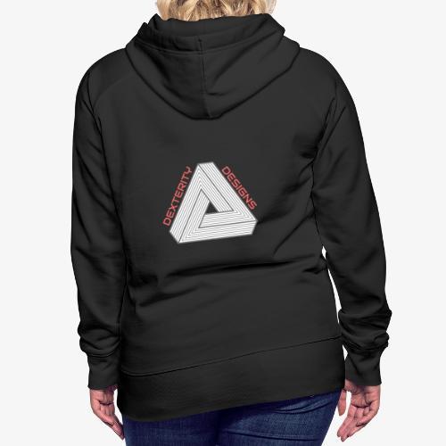 Modern Triangular Dexterity Logo - Women's Premium Hoodie