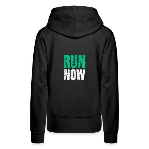 Renn Jetzt Marathon - Frauen Premium Hoodie