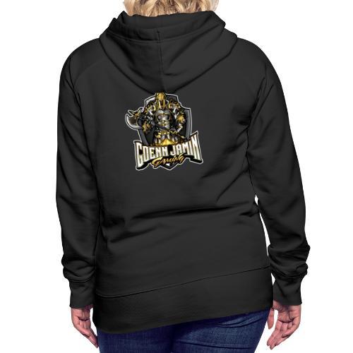 GoennjaminGaming - Logo Back Print Collection - Frauen Premium Hoodie