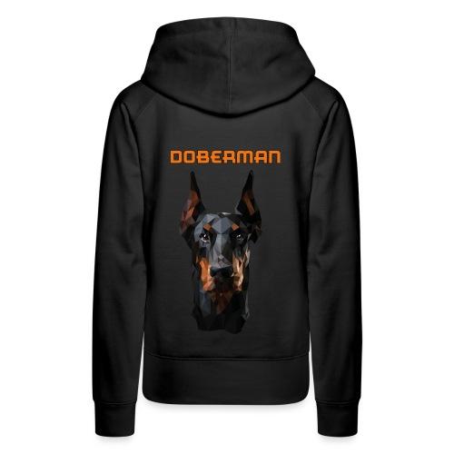 DOBERMAN - Vrouwen Premium hoodie