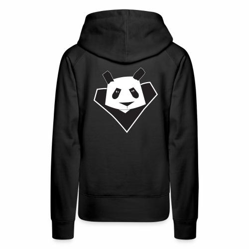 super panda 2 png - Sweat-shirt à capuche Premium pour femmes