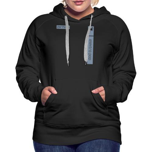 a-logo_elektropop_hochkan - Frauen Premium Hoodie