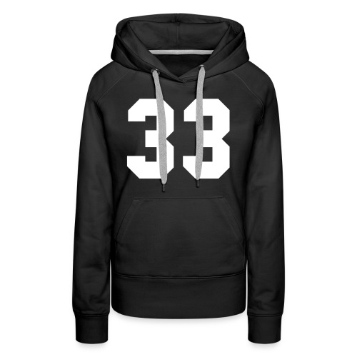 33 - Vrouwen Premium hoodie