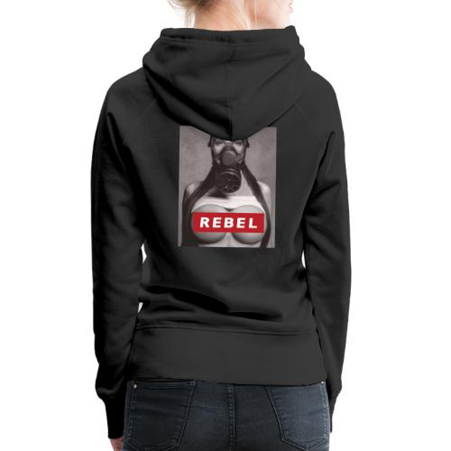postapocalyptic rebel - Frauen Premium Hoodie