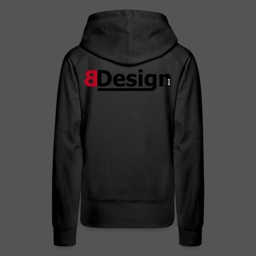 bdesign_logo - Frauen Premium Hoodie