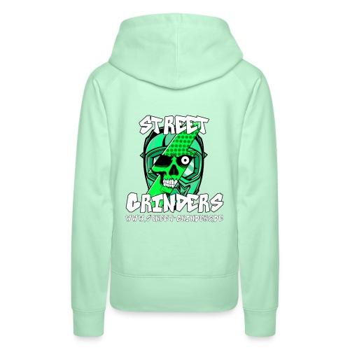 Street Grinders Merch Grün - Frauen Premium Hoodie
