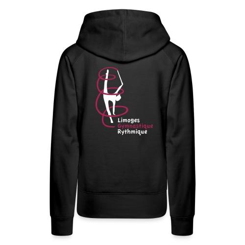 Limoges GR - Sweat-shirt à capuche Premium pour femmes