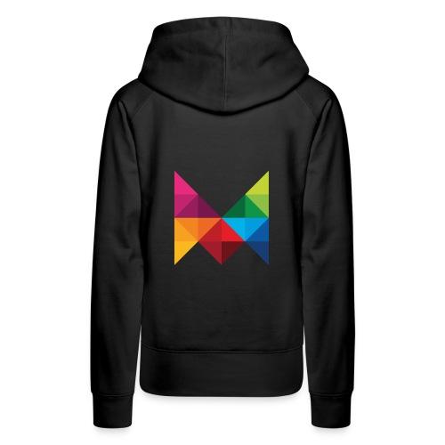 m logo001 png - Frauen Premium Hoodie