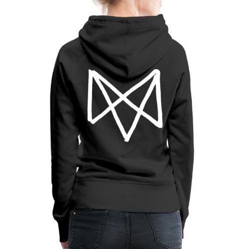 Mike Vallas Logo Back-Print - Frauen Premium Hoodie