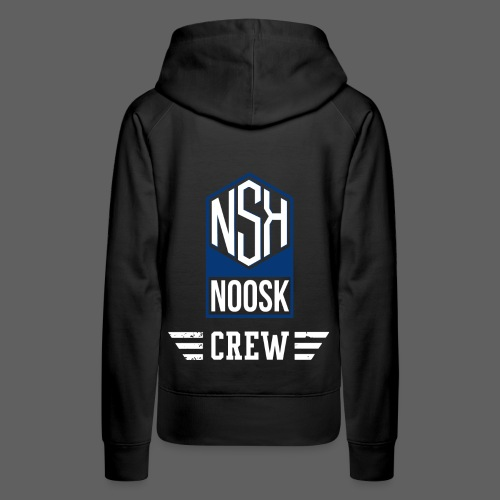 NOOSK CREW [BLEU] - Sweat-shirt à capuche Premium pour femmes