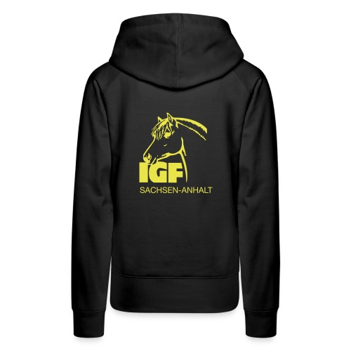 igf gelb - Frauen Premium Hoodie