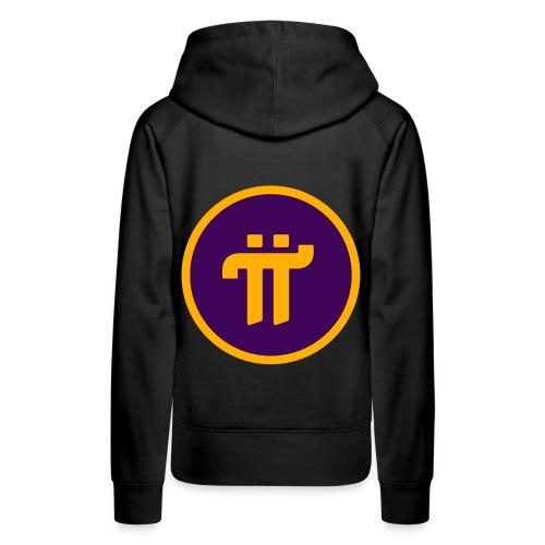 Pi Network Wear - Sweat-shirt à capuche Premium pour femmes