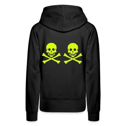 pirateskull - Women's Premium Hoodie