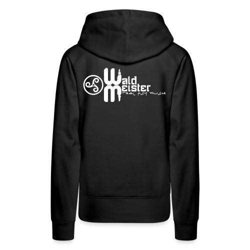 Waldmeister.ch real psy music - Women's Premium Hoodie