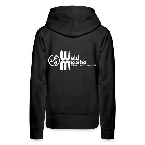 Waldmeister.ch real psy music - Women's Premium Hoodie
