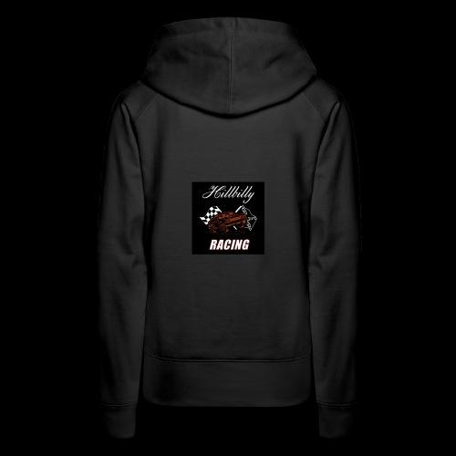 Hillbilly racing merchandise - Vrouwen Premium hoodie