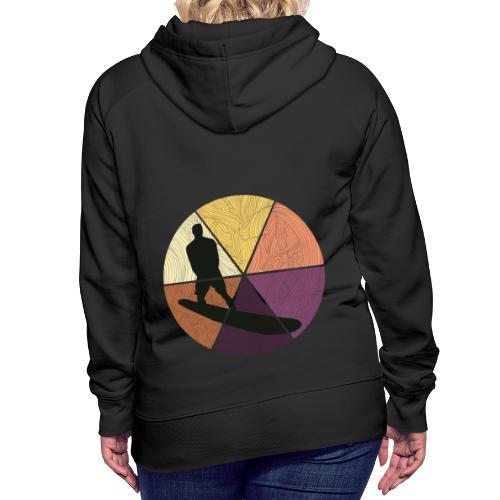 Wellenreiten - Frauen Premium Hoodie