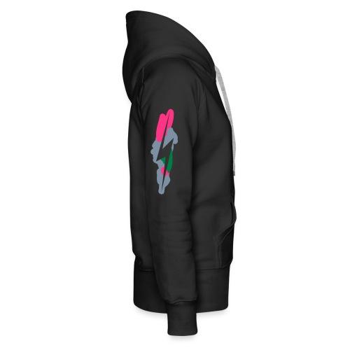 leggingseclair - Sweat-shirt à capuche Premium pour femmes