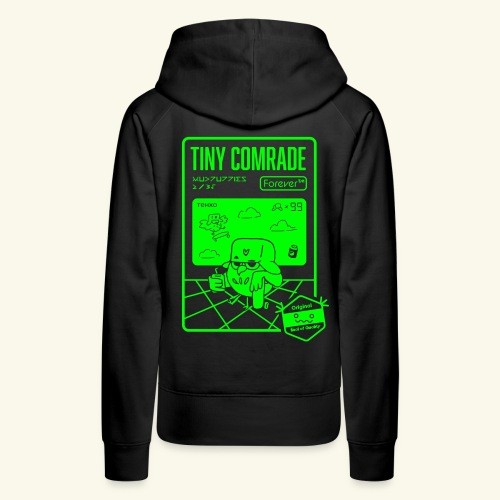 TinyComrade FOREVER - Hoodie - Women's Premium Hoodie