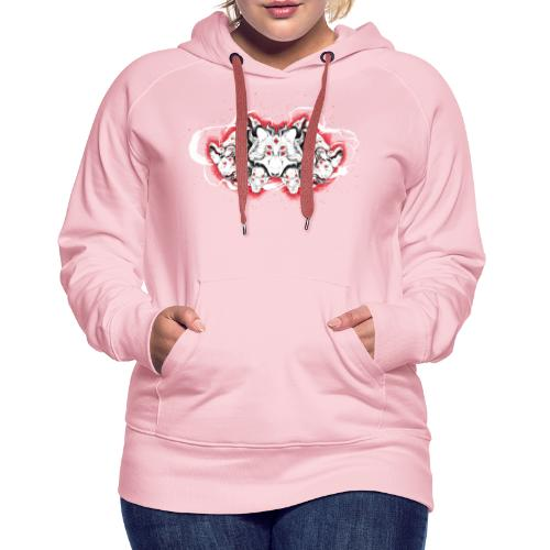 Arauc'Honaya - Sweat-shirt à capuche Premium pour femmes