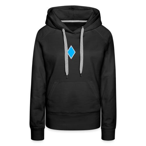 Diamond blue - Women's Premium Hoodie