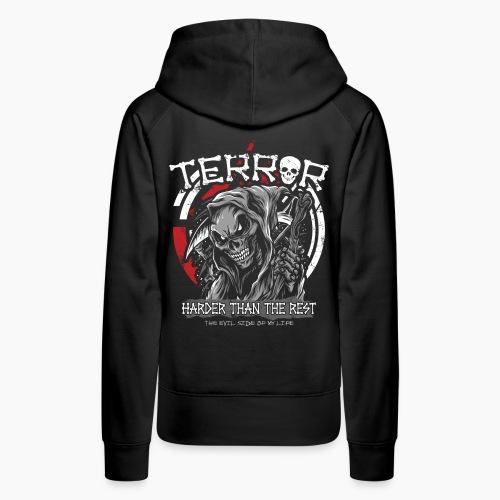 Terror - Harder Than The Rest - Women's Premium Hoodie