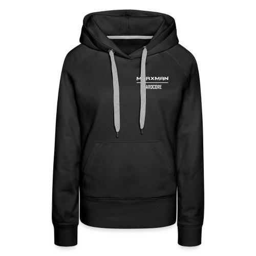 Marxman Text png - Vrouwen Premium hoodie