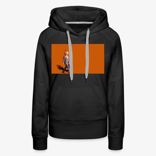 Pumpkinman - Vrouwen Premium hoodie