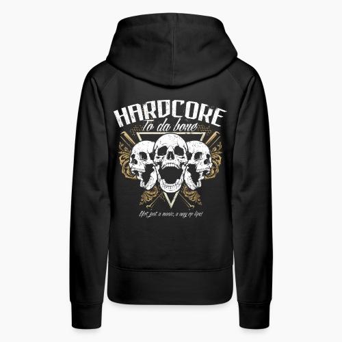 HC To Da Bone - Women's Premium Hoodie