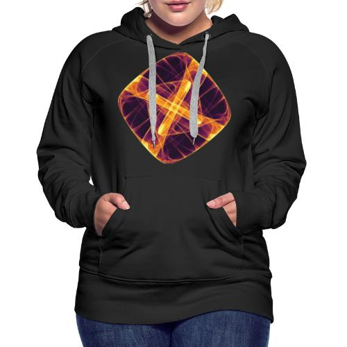 Chakra Mandala Mantra OM Chaos Star Circle 12255i - Women's Premium Hoodie