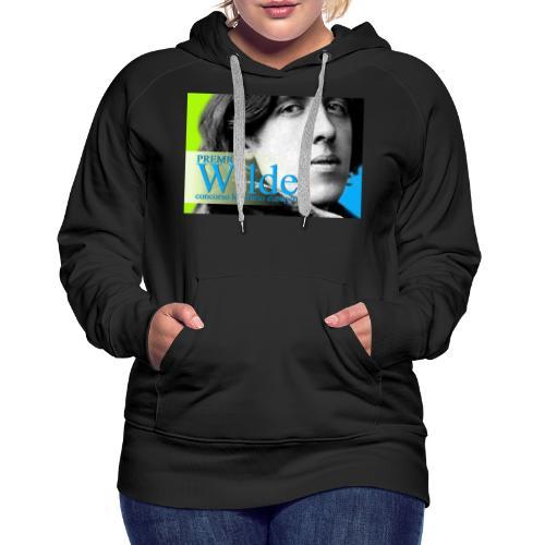Wilde vintage 2031 - Felpa con cappuccio premium da donna