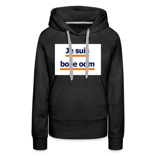 boze oom - Vrouwen Premium hoodie