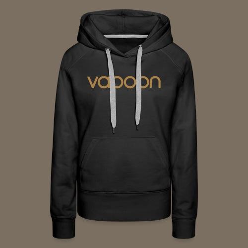 Vapoon Logo simpel 01 - Frauen Premium Hoodie